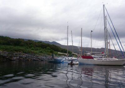Sail boats Isle Martin