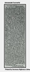 Announcement from 20-Nov-1812-Fisheries-Herring