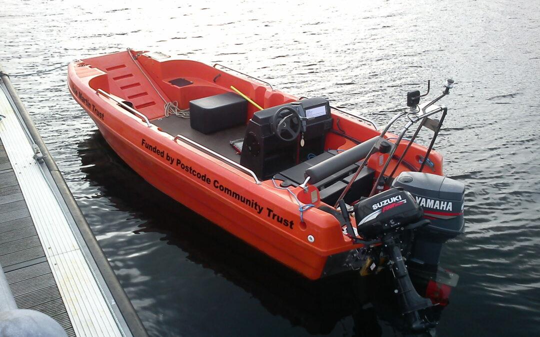 Auk The Isle Martin ferry boat