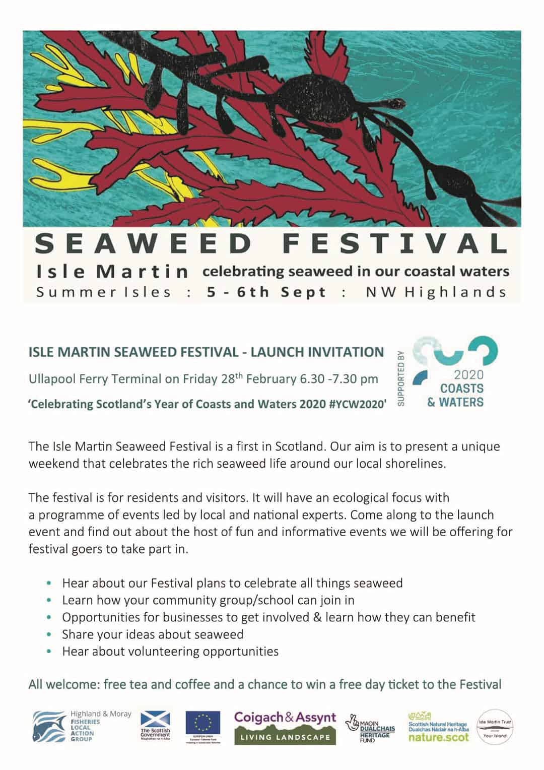 Seaweed Festival Launch Invitation