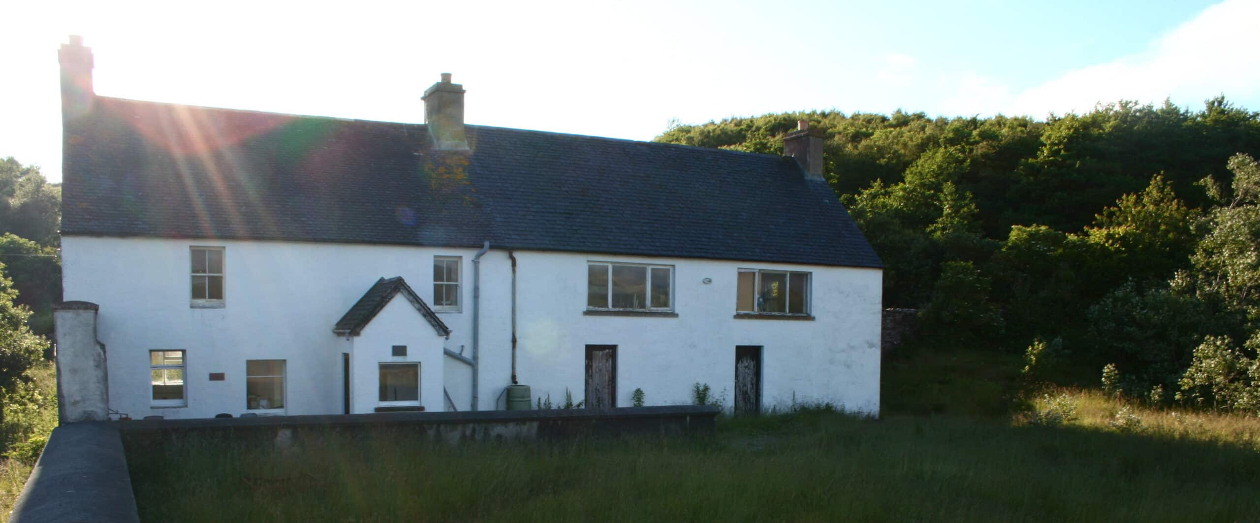The Mill House on Isle Martin