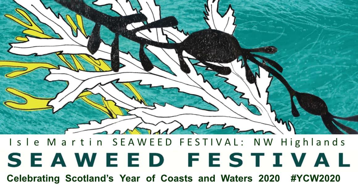 Isle Martin 2020 Seaweed Festival Postponed Banner